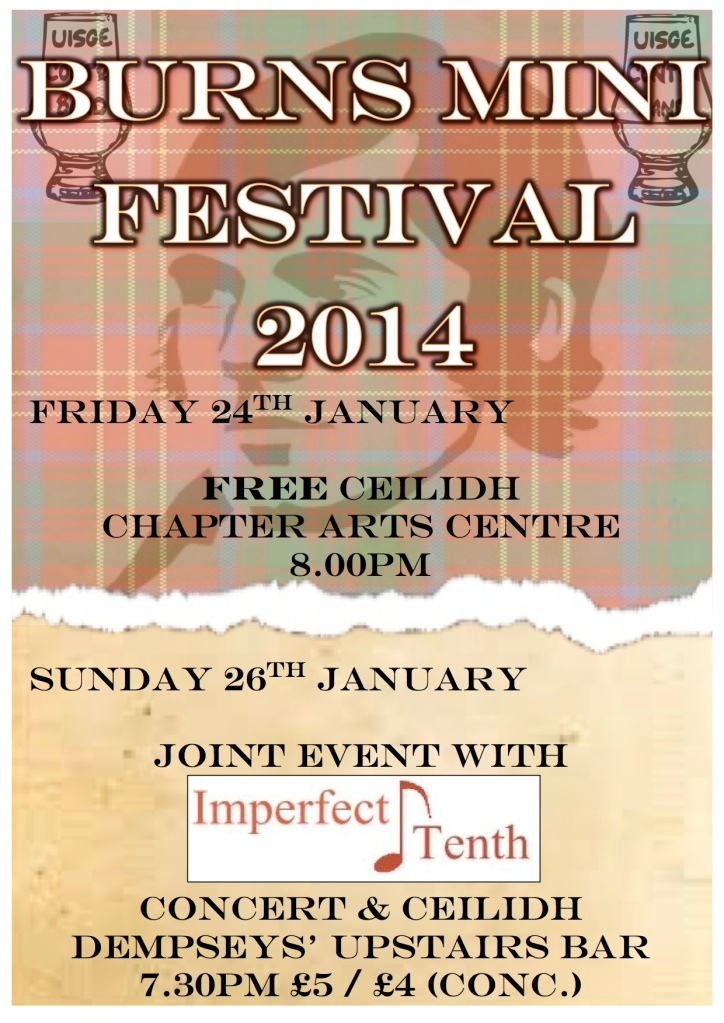 Burns' Mini Festival 2014