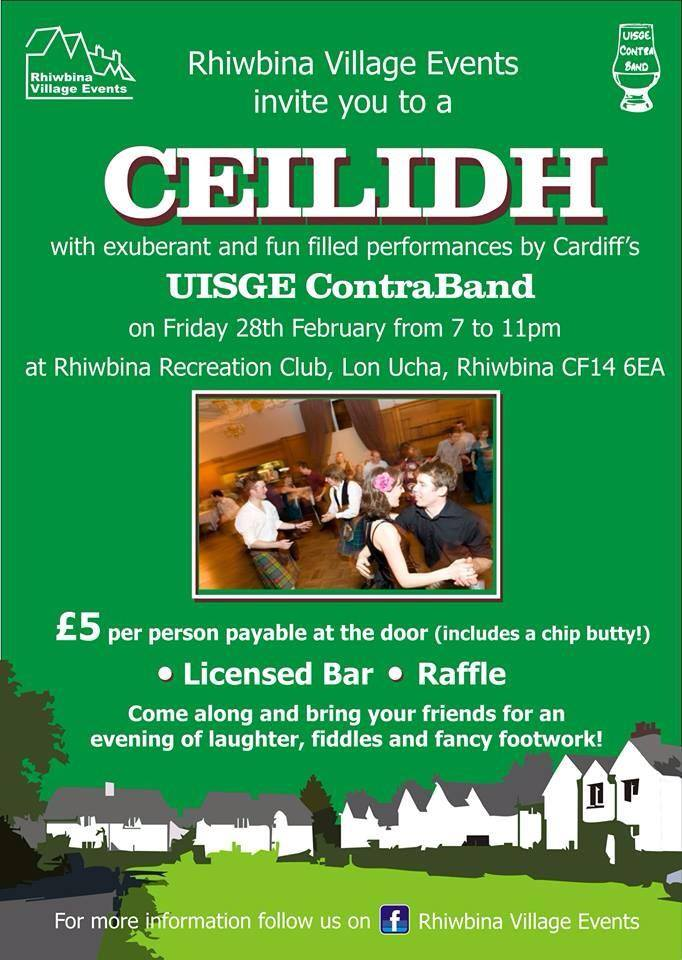 A Fundraiser for Rhiwbina Festival