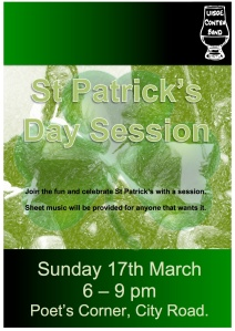 St Patrick's Day Session